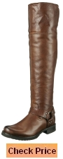 FRYE Women's Veronica Harness Over-The-Knee Boot