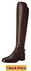 Franco Sarto Women's Mast Motorcycle Boot for Slender Legs