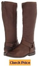 Frye Phillip Harness Tall Boots for Skinny Calves