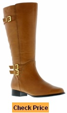 Rose Petals Women's Addison Super Wide Calf Boot