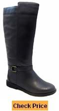 Women's Heidi Super Wide Calf Boot (Black)