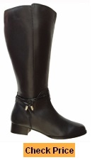 Rose Petals Women's Sadie Super Plus Wide Calf Boot
