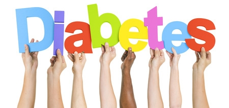 Colorful Diabetes Sign