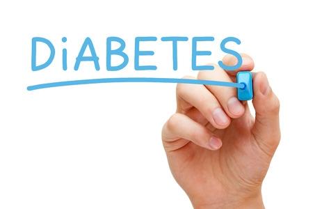 Hand Written Diabetes Sign