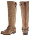 Madden Girl Womens Caanyon Equestrian Boots
