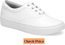 Nurse Mates Womens Fleet White Shoes