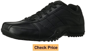 Skechers for Work Men's Rockland Systemic Slip Resistant Lace-Up Shoes