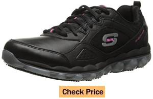 Skechers for Work Skech Air Slip Resistant Lace-Up