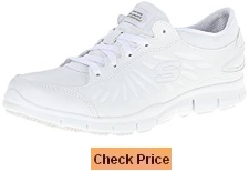Skechers for Work Women's Eldred Slip Resistant Shoe