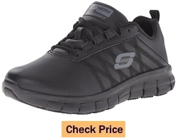 Skechers for Work Women's Sure Track Erath Athletic Slip Resistant Boot