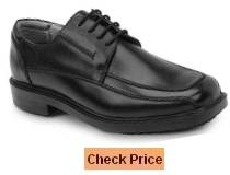 SR Max Manhattan Men's Black Slip Resistant Dress Shoe