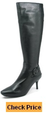 SoleMani Women's Slim Collection Rochelle Knee-High Dress Boots