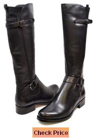 Solemani Avigial Women's Casual Narrow Calf Leather Boot