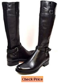 Solemani Gabi 13 inch Slim Calf Women's Leather Boot