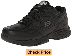 Skechers for Work Women's Albie Relaxed-Fit Slip Resistant Walking Shoe