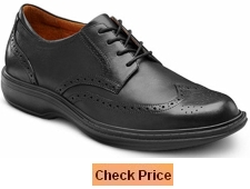 Dr Comfort Wing Men's Therapeutic Diabetic Extra Depth Dress Shoe Leather Lace