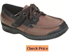Orthofeet Baton Rouge Comfort Arthritis Orthopedic Mens Diabetic Boat Shoes