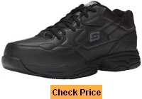 Skechers for Work Men's 77032 Felton Resistant Relaxed Fit Work Shoe