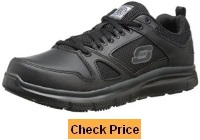 Skechers for Work Men's 77040 Flex Advantage Oxford Sneaker