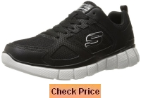 Skechers Sport Men's Equalizer 2 0 On Track Lace-Up Sneaker