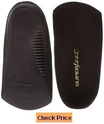 superfeet delux dress shoe insoles 3/4