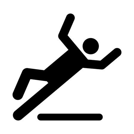 Slipping Warning Sign
