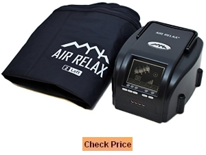 AIR RELAX Sequential Air Compression Leg Massager