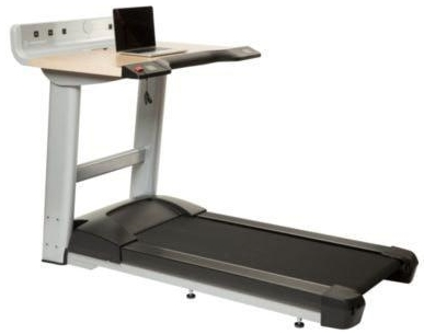 Desk Treadmill with Laptop