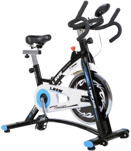 L NOW Indoor Cycling Bike Smooth Belt Driven