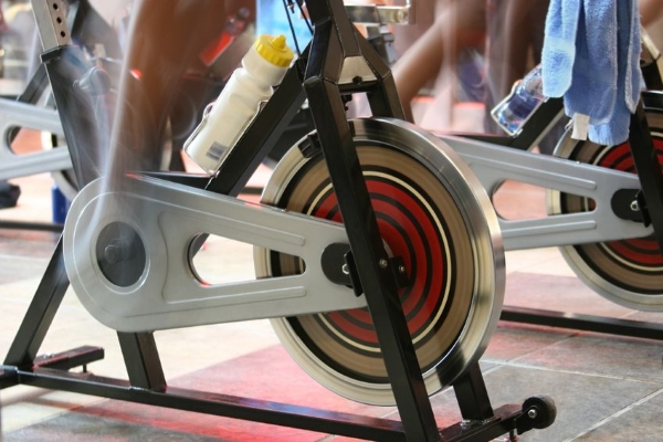 Training on a Spin Bike
