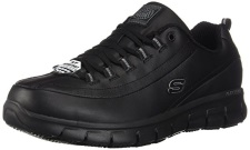 Skechers For Work Women S Sure Track Trickel Slip Resistant Shoe
