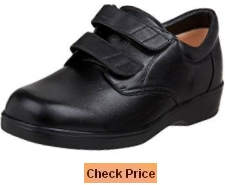Aetrex Men's Conform Double Strap Hook & Loop Oxford