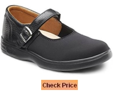 Dr Comfort Women's Merry Jane Lycra Stretchable Diabetic Mary Jane Shoes