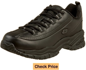 Skechers for Work Women's Soft Stride-Softie Slip Resistant Lace-Up Shoe