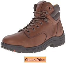 Timberland Pro Men's Titan 6 Inch Coffee Soft-Toe Boot