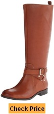 Enzo Angiolini Women's Daniana Wide Riding Boot