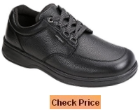 Orthofeet Avery Island Comfort Orthopedic Diabetic Work Shoes For Men