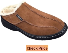 Orthofeet Asheville Comfort Arch Support Diabetic Mens Orthopedic Slippers