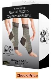 Physix Gear Sport Plantar Fasciitis Socks