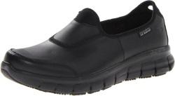 Skechers for Work Women's 76536 Sure Track non slip Shoe