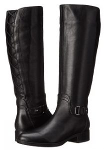 19527d4272327 Geox Women's Felicity Lace-Up Back Boots For Slim Calves. Some tall black  boots ...