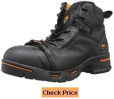 Timberland PRO Men's Endurance PR Waterproof Steel-Toe 6 Inch Work Boot