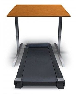 Treadmill With Separate Standing Desk