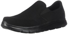 Skechers for Work Men's Flex Advantage Slip Resistant Mcallen Slip On