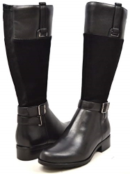 SoleMani Gabi 13 Inch Slim Calf Leather Boot