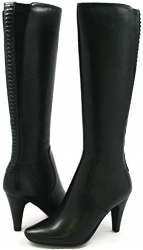 SoleMani Slim Calf Paradise Leather Boot