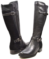 SoleMani Valentino 13 Inch Slim Calf Women Leather Boot