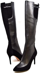 Solemani Aviva X-Slim 12 Inch Calf Leather Boot