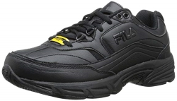 Fila Womens Memory Workshift Slip Resistant Work Shoe