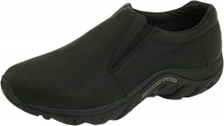 Merrell Mens Jungle Leather Slip-On Shoe